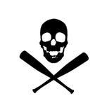 Projeto do vetor dos piratas do basebol ilustração royalty free