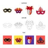 Projeto do vetor do símbolo do luxo e da celebração Coleção do luxo e para esconder o símbolo de ações para a Web ilustração stock