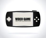 Projeto do videogame Fotos de Stock