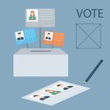 Projeto do voto Ilustração Stock