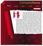 Projeto do Web site Fotos de Stock