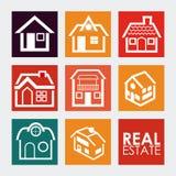 Projeto dos bens imobiliários Foto de Stock Royalty Free