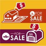 Projeto dos bens imobiliários Imagem de Stock Royalty Free