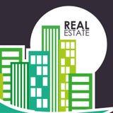 Projeto dos bens imobiliários Fotografia de Stock Royalty Free
