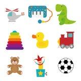 Projeto dos brinquedos do bebê ilustração do vetor