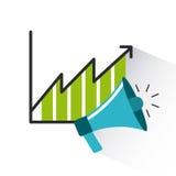 Projeto dos elementos do negócio Imagem de Stock