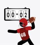 Projeto dos esportes ilustração do vetor