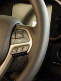 Projeto e controles Multifunction do volante Fotografia de Stock Royalty Free