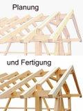 Projeto e fabricação de casas de madeira Imagem de Stock Royalty Free