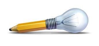 Projeto e inovação ilustração stock