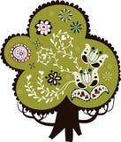 Projeto encantador da árvore Foto de Stock Royalty Free