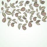 Projeto encantador da mola com flores. ilustração royalty free