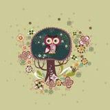 Projeto encantador da árvore Fotos de Stock Royalty Free