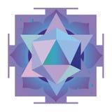 Projeto esotérico violeta Foto de Stock Royalty Free