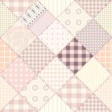 Projeto estofando cor-de-rosa Imagem de Stock