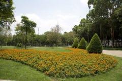 Projeto exterior das paisagens na ilha Guangzhou de Ersha fotos de stock royalty free