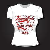 Projeto fêmea do t-shirt, teste padrão de matéria têxtil, esboço tirado mão, ilustração Ilustração Royalty Free