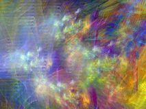 Projeto fantástico do fractal Fotos de Stock