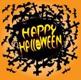 Projeto feliz do feriado de Halloween. Fotos de Stock