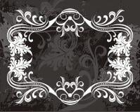 Projeto filigree extravagante da beira ilustração royalty free