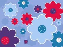 Projeto floral Imagens de Stock Royalty Free