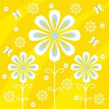 Projeto floral Fotos de Stock