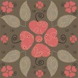 Projeto floral Fotos de Stock Royalty Free