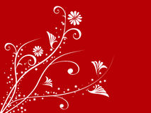 Projeto floral Imagem de Stock