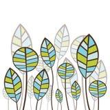 Projeto floral abstrato Fotos de Stock Royalty Free
