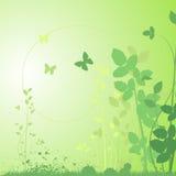 Projeto floral abstrato Foto de Stock Royalty Free