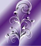 Projeto floral abstrato Imagem de Stock