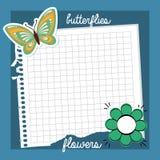 Projeto floral bonito Imagens de Stock