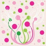 Projeto floral bonito do fundo Fotos de Stock Royalty Free