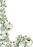 Projeto floral da beira do vetor Foto de Stock Royalty Free