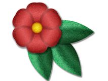 Projeto floral de Digitas Fotos de Stock Royalty Free