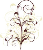 Projeto floral de Grunge Foto de Stock Royalty Free