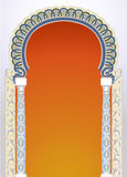 Projeto floral do arco Imagem de Stock