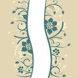 Projeto floral do fundo ilustração do vetor