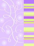 Projeto floral Funky Fotos de Stock