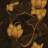 Projeto floral sem emenda Foto de Stock