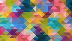 Projeto geométrico, mosaico, mosaico abstrato do fundo, teste padrão para o anúncio do negócio, brochuras, folhetos ilustração stock