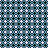 Projeto geométrico sem emenda do teste padrão do diamante fotografia de stock