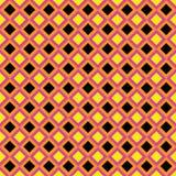 Projeto geométrico sem emenda do teste padrão do diamante imagens de stock