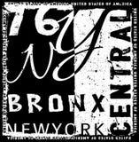 Projeto gráfico da tipografia de New York Foto de Stock