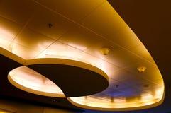 Projeto gráfico de luzes de teto fotos de stock