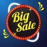 Projeto grande do botão do ícone do vetor da venda Fotos de Stock Royalty Free