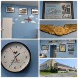 Projeto histórico New York da restauração dos aviões Fotografia de Stock