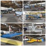 Projeto histórico New York da restauração dos aviões Imagem de Stock Royalty Free