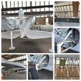 Projeto histórico New York da restauração dos aviões Fotos de Stock