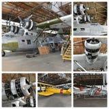 Projeto histórico New York da restauração dos aviões Fotos de Stock Royalty Free